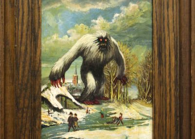 The return of the terrifying yeti
