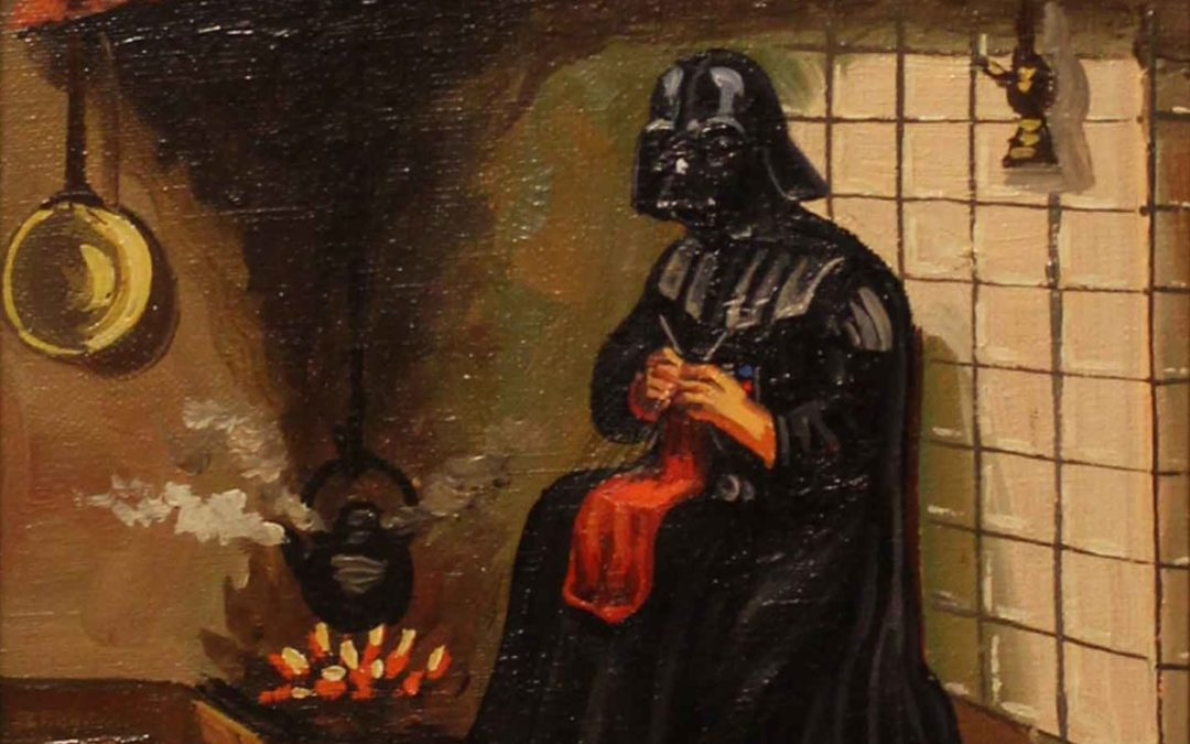 Even Darth Vader was fed up with war