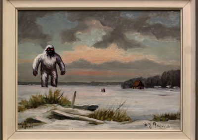 Encounters with the terrifying Yeti