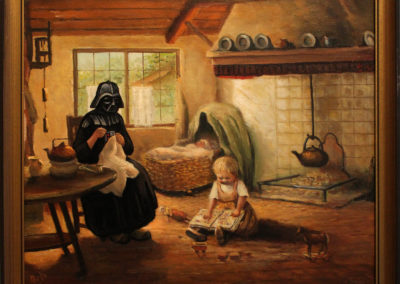 Even Darth Vader loves being at home