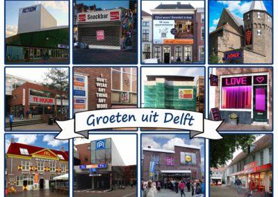"""""""Groeten uit Delft"""", utopie of dystopie?"""